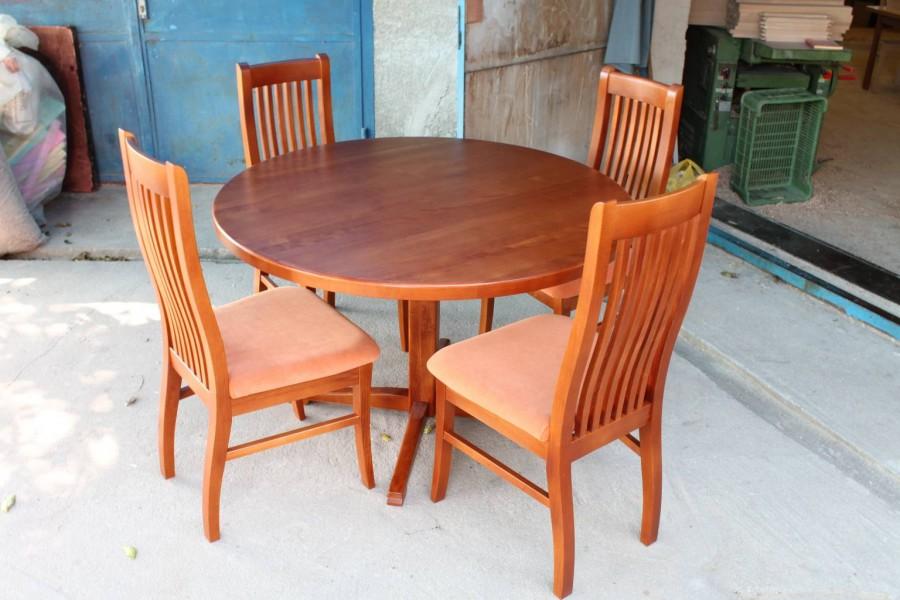 Stôl Kruhový Stolička DM 12