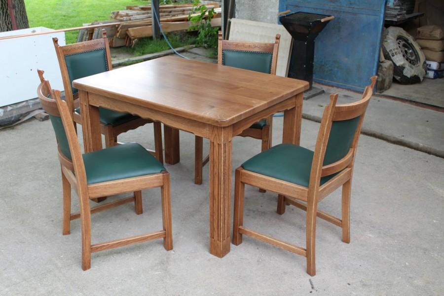 Stôl Rustik , Stolička DM 32