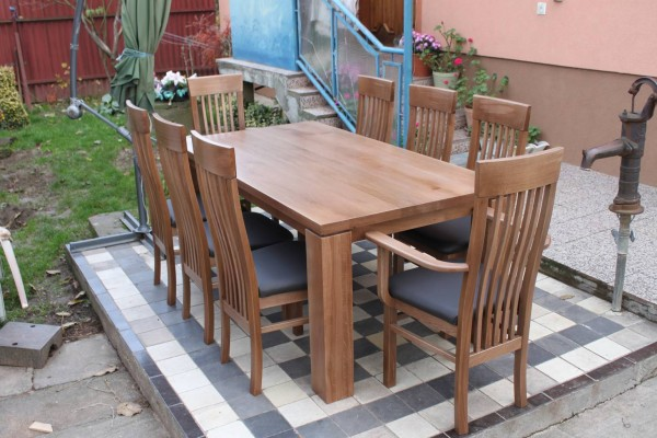Stôl  ST 11 , Stolička DM 33