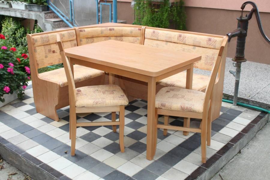 Lavica Nika , Stôl Michal , Stolička DM 13